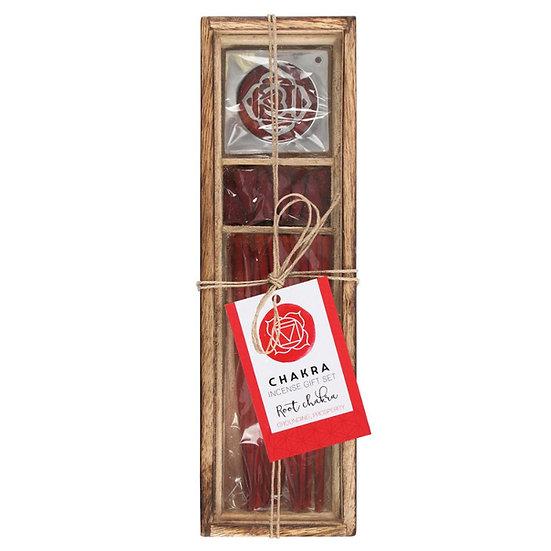 Root Chakra Wooden Incense 底輪能量塔香+線香