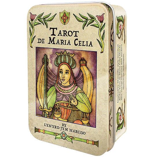 Tarot de Maria Celia in a Tin 鐵罐塔羅牌