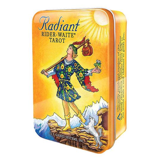 Radiant Rider-Waite® in a Tin 鐵罐塔羅牌