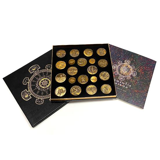 Geomantic Visions Divination Coins 西洋占卜金幣 (1st Edition)