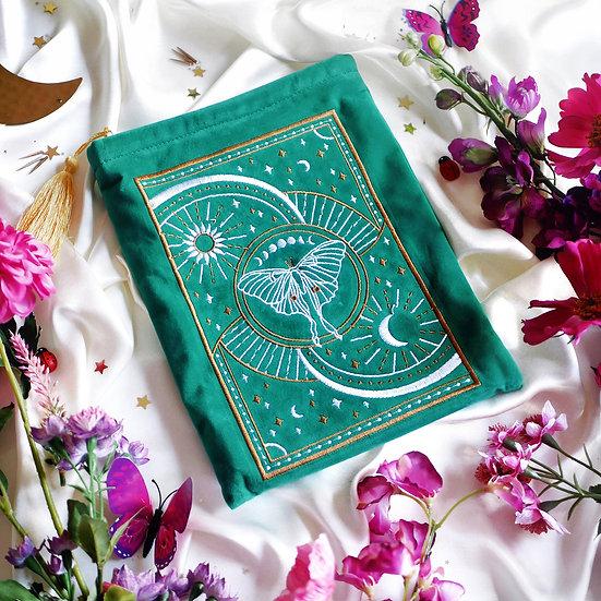 Luna Moth Book Sleeve 書套