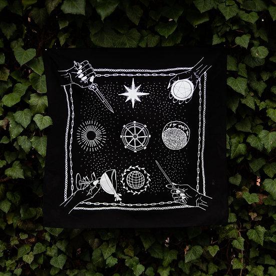 Elements & Planets Altar Cloth 塔羅布