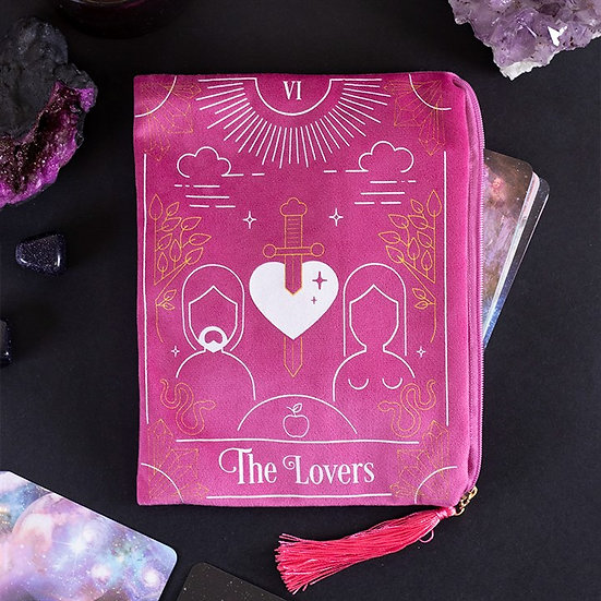 The Lovers Tarot Zippered Bag 塔羅拉鏈袋