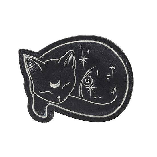 Sleeping Cat Resin Incense Holder 樹脂香座