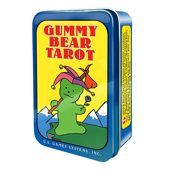 Gummy Bear Tarot in a Tin 鐵罐塔羅牌