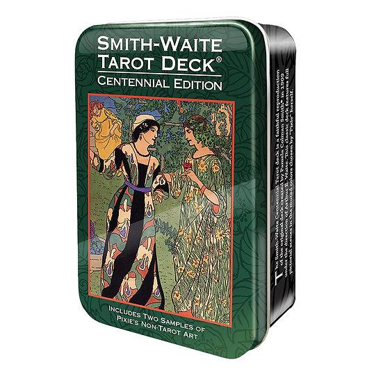Smith-Waite Centennial Tarot in a Tin 鐵罐塔羅牌