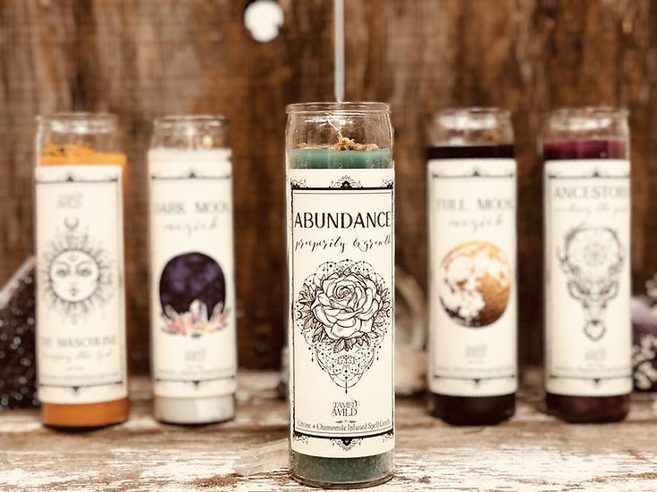 Abundance Spell Candle 豐盛意念蠟燭 (舊版)