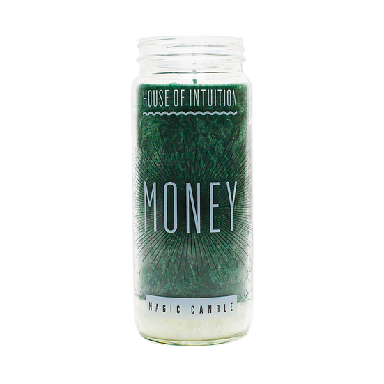 Money Intention Candle 無人嫌錢腥