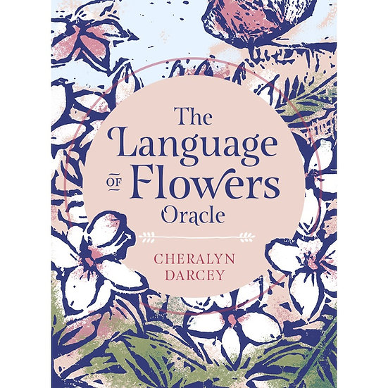 The Language of Flowers Oracle 神諭牌
