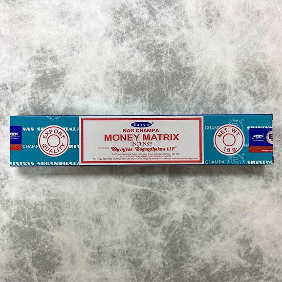 Money Matrix Incense 金錢基石線香