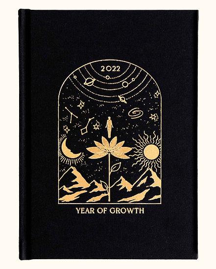 2022 Year of Growth Diary 行事曆手帳 (10-11月發貨)