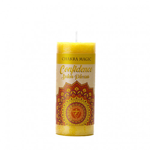 Solar Plexus Chakra Candle - Confidence 太陽神經叢能量蠟燭