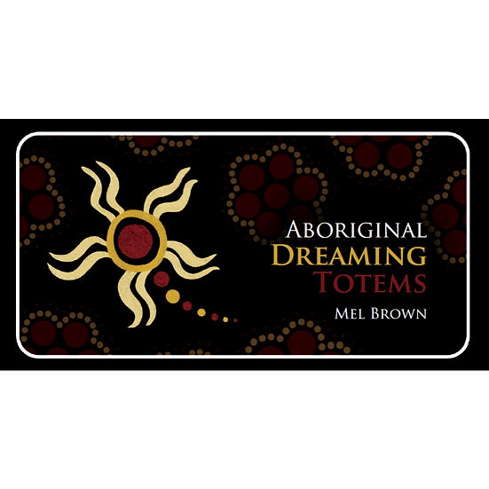 Aboriginal Dreaming Totems Mini Deck 迷你神諭牌