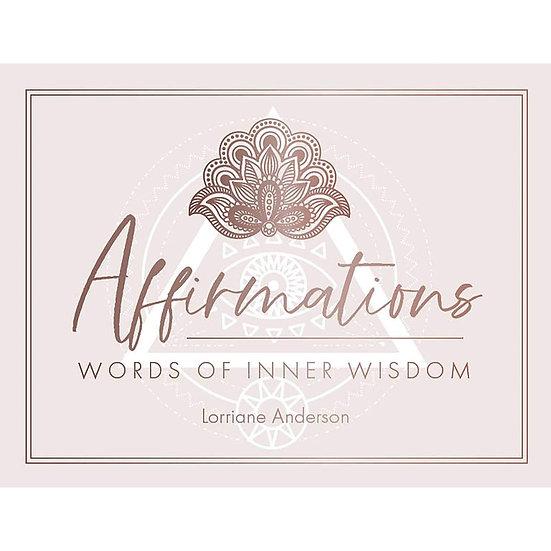 Affirmations - Words of Inner Wisdom 迷你神諭牌