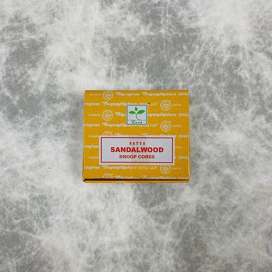 Sandalwood Incense Cone 檀香塔香