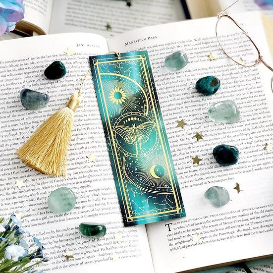 Luna Moth Bookmark 書籤