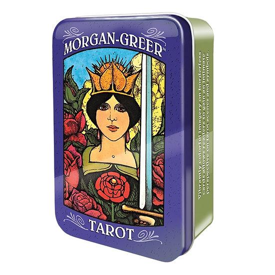 Morgan-Greer Tarot in a Tin 鐵罐塔羅牌
