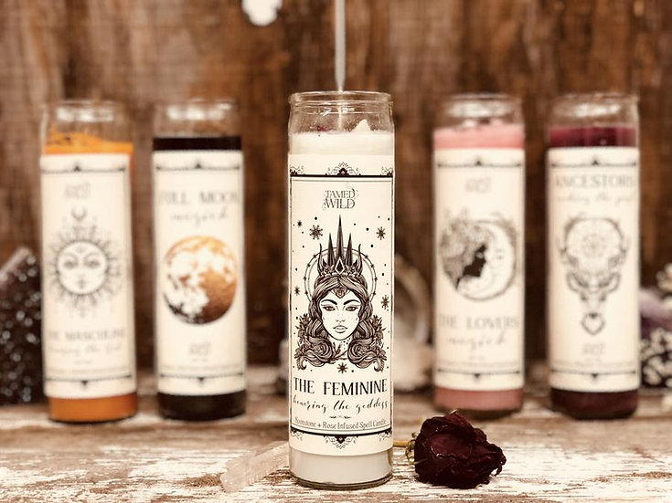 The Feminine Spell Candle 女性能量意念蠟蠟 (舊版)