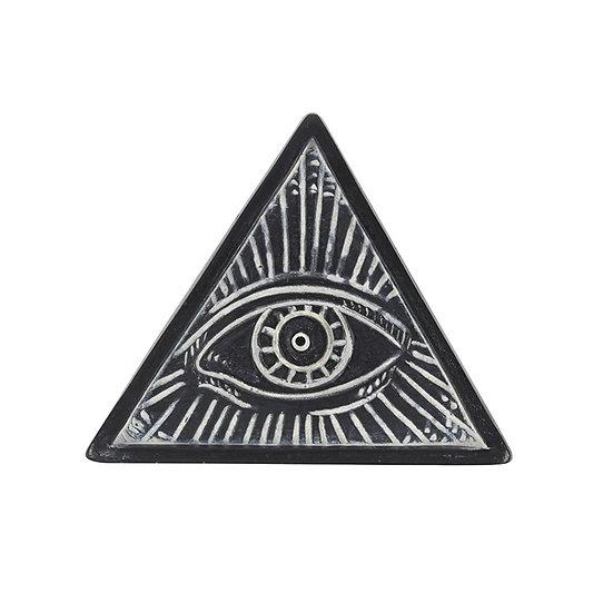 All Seeing Eye Resin Incense Holder 樹脂香座