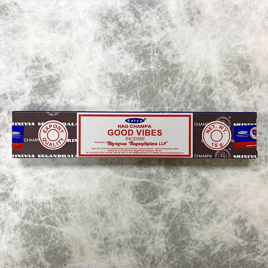 Good Vibes Incense 正正的氣場線香