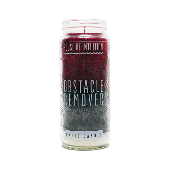 Obstacle Remover Intention Candle 去去障礙走