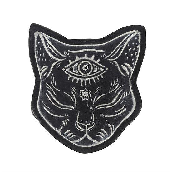 Mystical Cat Resin Incense Holder 樹脂香座
