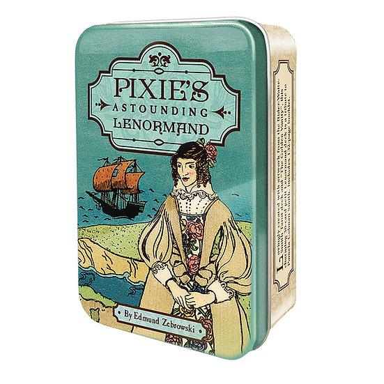 Pixie's Astounding Lenormand 鐵罐雷諾曼牌