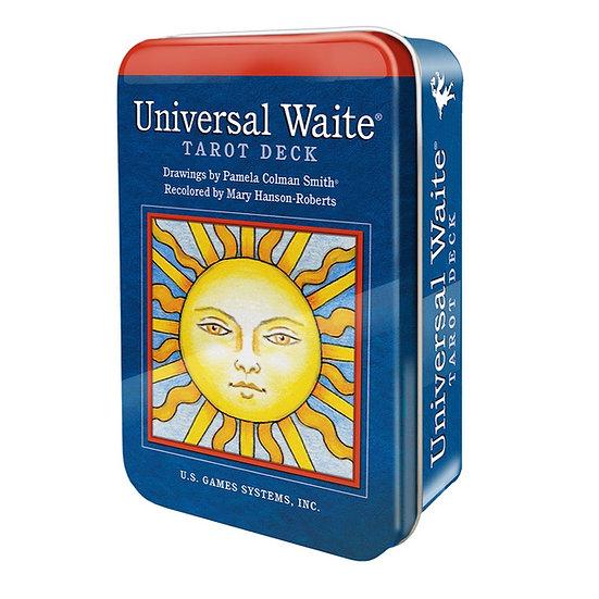 Universal Waite® Tarot Deck in a Tin 鐵罐塔羅牌