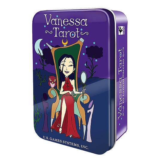 Vanessa Tarot in a Tin鐵罐塔羅牌