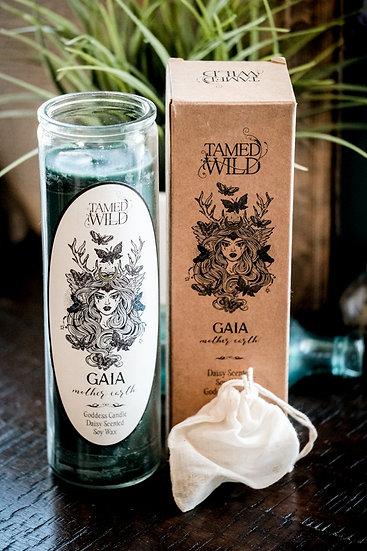 Gaia Goddess Candle 蓋亞女神蠟燭 (無瓶)