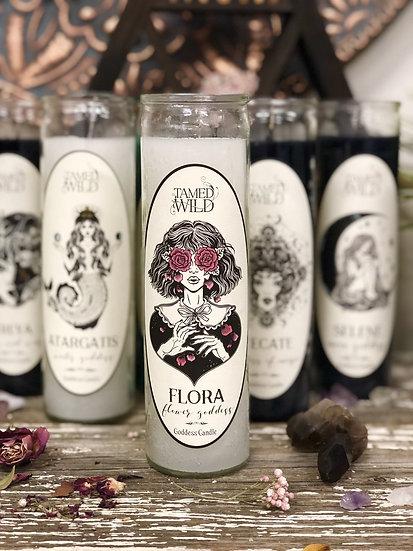 Flora Goddess Candle 佛洛拉女神蠟燭 (舊版)