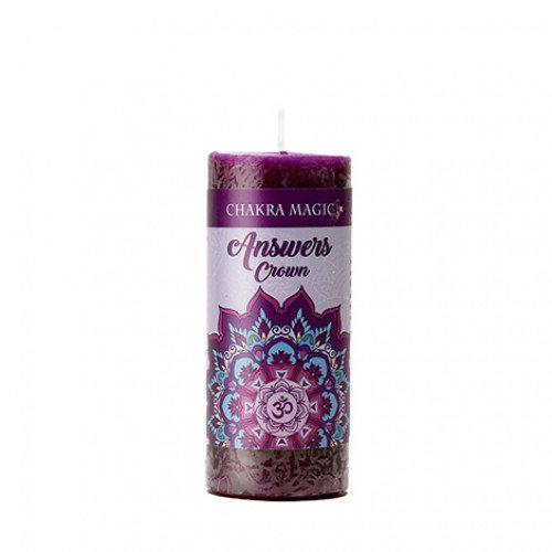 Crown Chakra Candle - Answers 頂輪能量蠟燭
