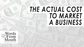 What's The Actual Cost To Market A Business