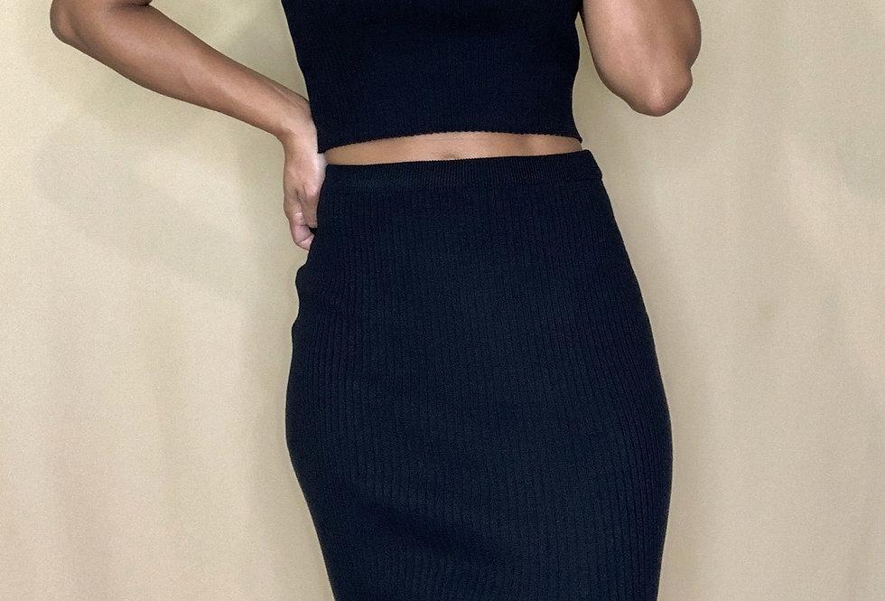 Latte Skirt Set