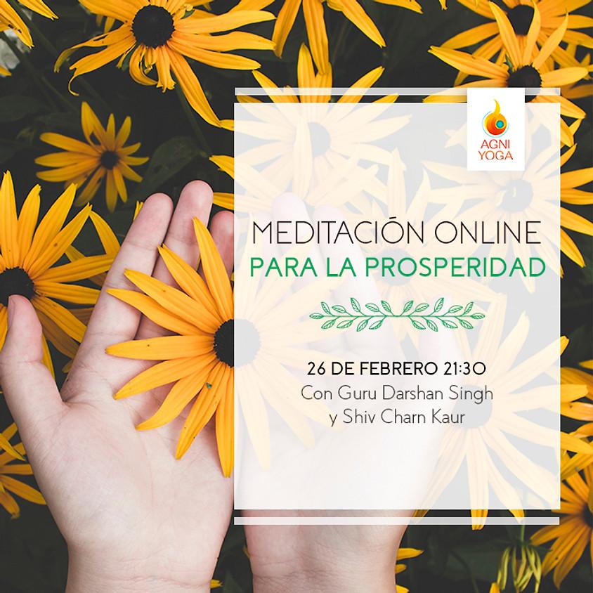 Meditación Online para la Prosperidad