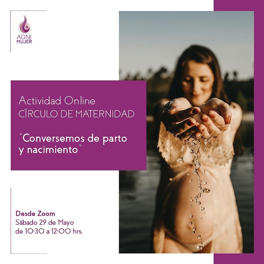 """Círculo Online Maternidad: """"Conversemos de parto y nacimiento"""""""