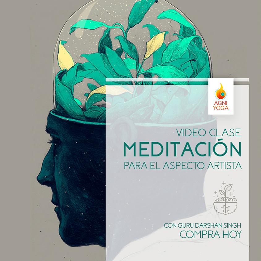 Meditación para el aspecto Artista
