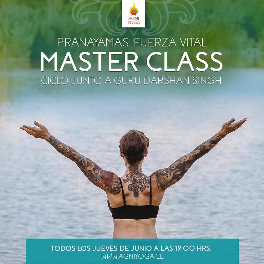 Master Class: Aprende a respirar… aprende a vivir