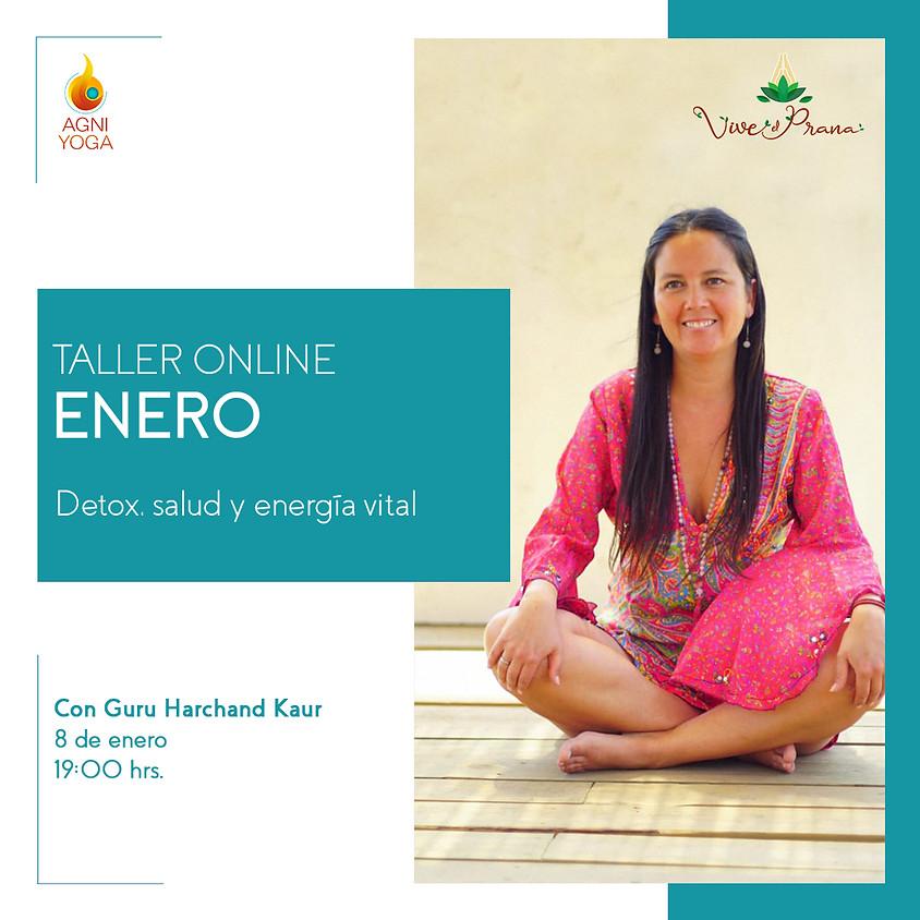 Taller Online: Detox, salud y energía vital