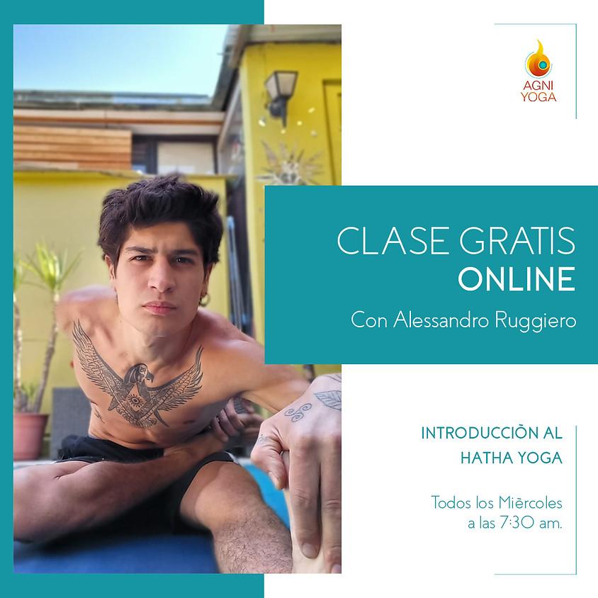 Clases Gratis: Introducción al Hatha Yoga