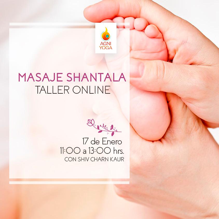 Taller Online: Masaje Shantala