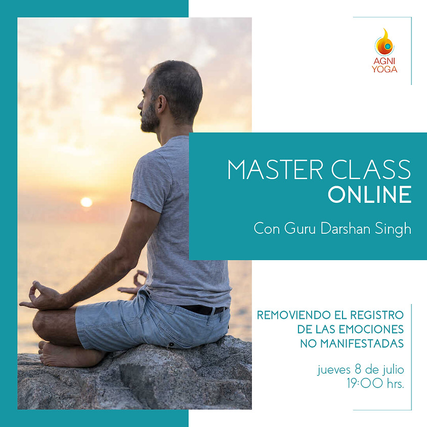Master Class: Removiendo el registro de las emociones no manifestadas