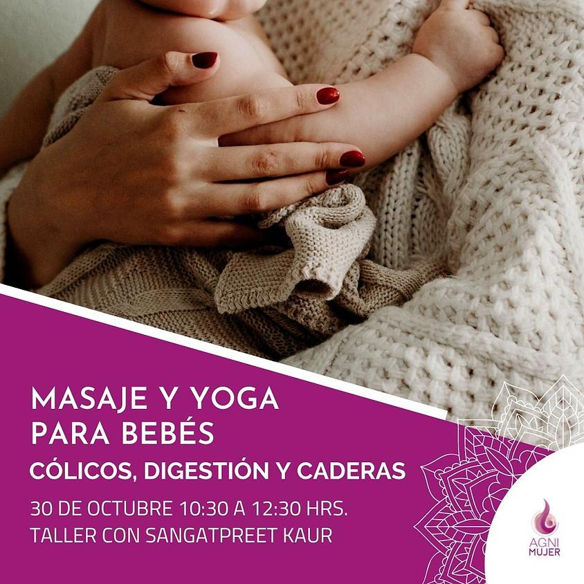 Taller Online Maternidad: Yoga, Masaje de cólicos y Serie de caderas para bebés