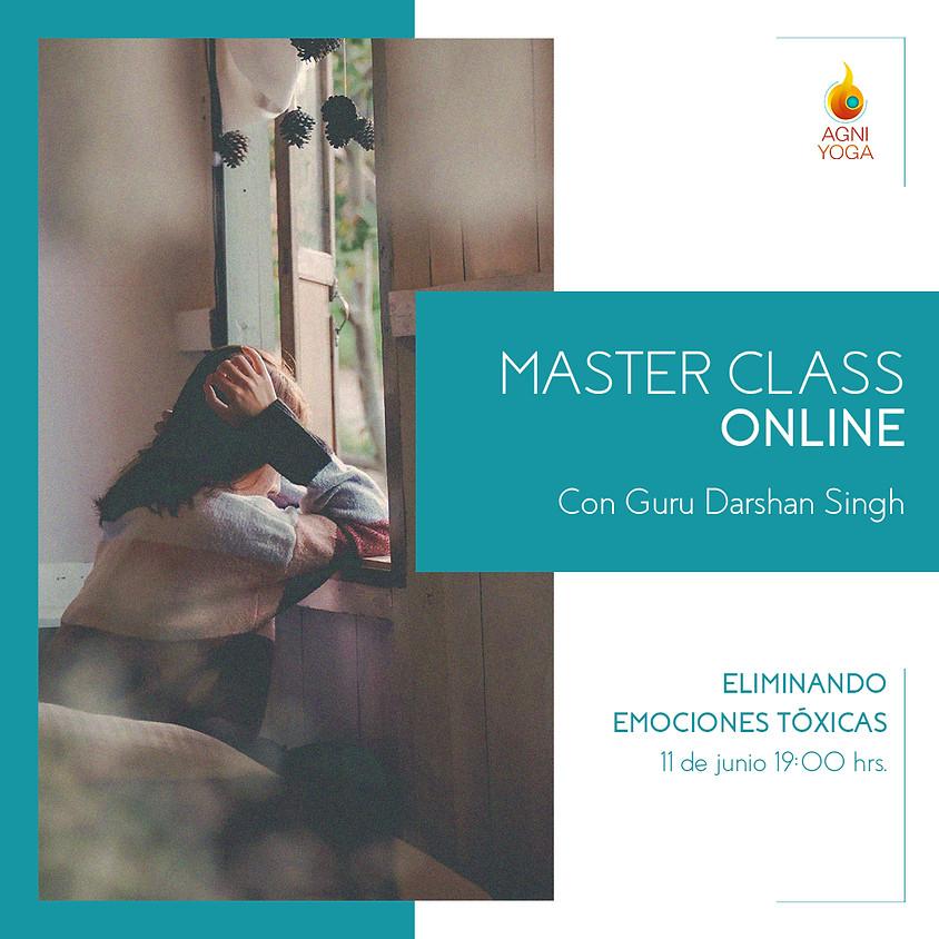 Master Class: Eliminando emociones tóxicas