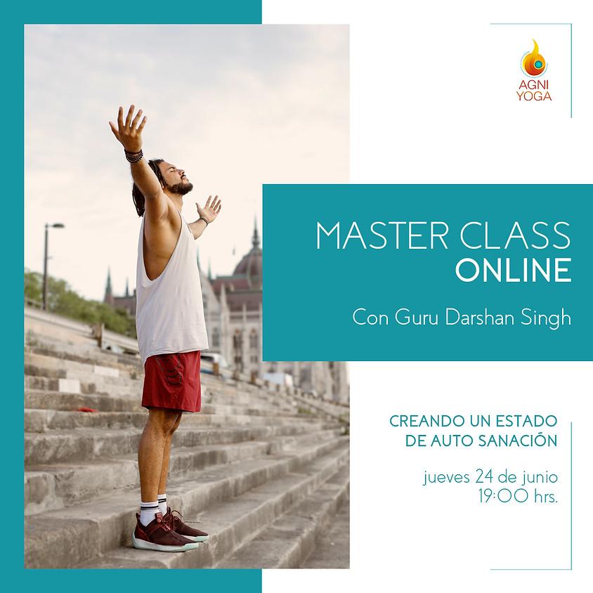 Master Class: Creando un estado de auto sanación
