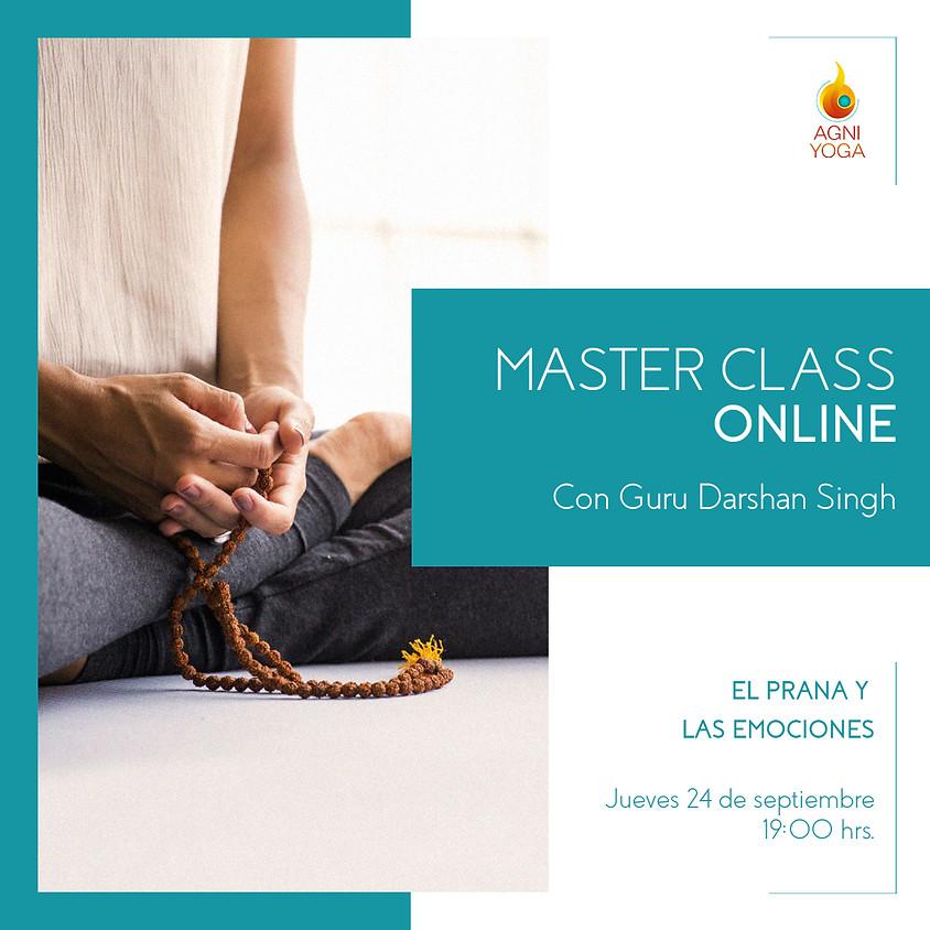 Master Class: El Prana y las emociones