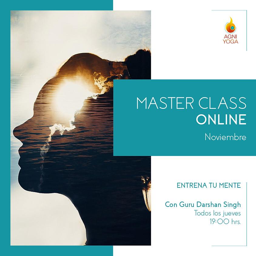 Master Class: Adicciones. Entender y traspasar la naturaleza adictiva de la mente
