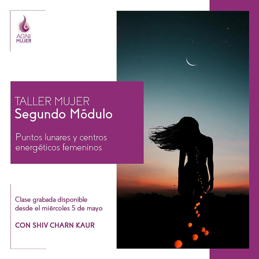 Taller Online Mujeres: Puntos lunares y centros energéticos femeninos