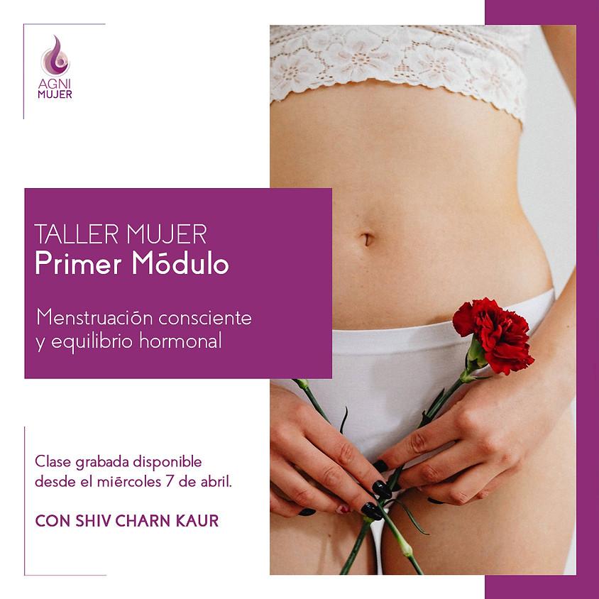 Taller Online Mujeres: Menstruación consciente y equilibrio hormonal