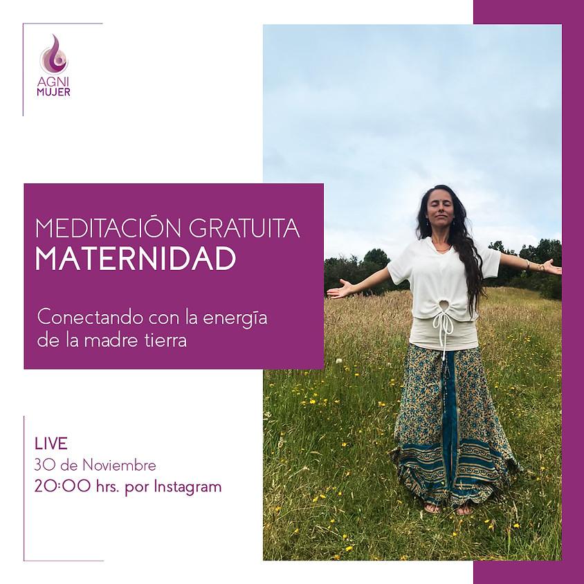 """Meditación Online Mujeres: """"Conectando con la energía de la madre tierra"""""""